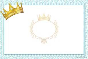 kit personalizado tema quot coroa azul menino quot para imprimir