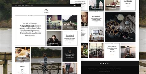 themeforest yonkers yonkers trendy portfolio joomla template by