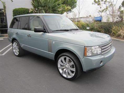 light green range rover 2008 lucerne green land rover range rover hse family car