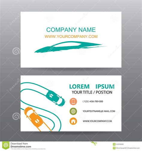 business card templates illustrator business card sle