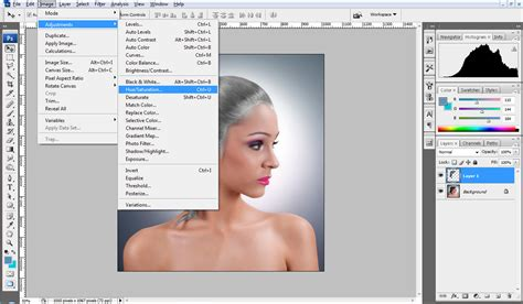 hair selection tutorial photoshop cs3 extract hair photoshop cs4 tutorial change hair color