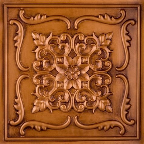 How To Put Up Tin Ceiling Tiles by Dct 26 Faux Tin Ceiling Tile Glue Up 24x24 Ceiling Tile
