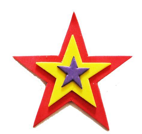 estrella de goma eva y purpurina para decorar el arbol de navidad pin estrella republicana la tienda del pce