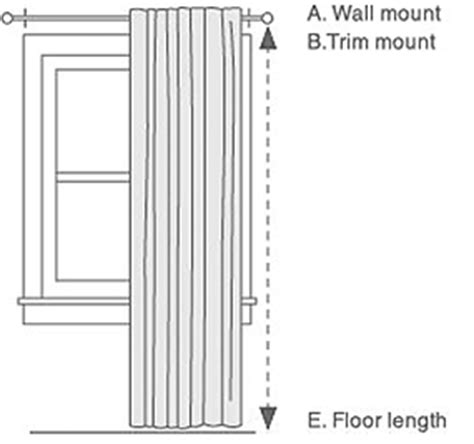 floor length curtains measurements how to measure for curtains pbteen