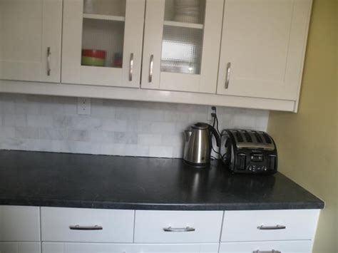 soapstone like laminate real life pic of wilsonart black alicante kitchen pinterest