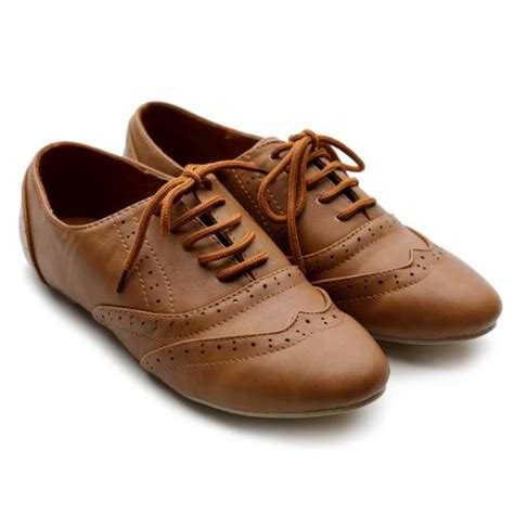 Sepatu Flat Grey Lace ollio s shoe classic lace up dress low flat heel