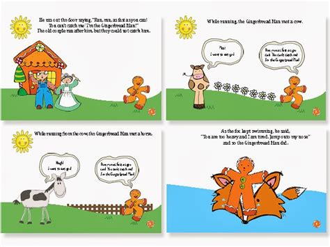 preschool gingerbread man printable book the constant kindergartener teaching ideas and resources