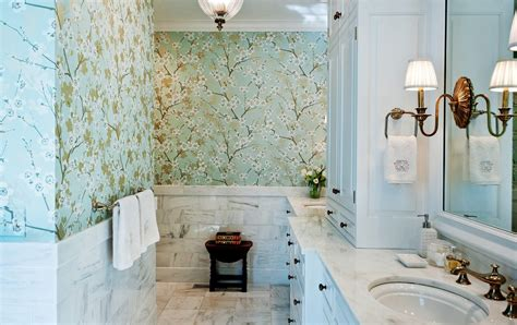 traditional bathroom wallpaper traditional bathroom wallpaper bathroom traditional with