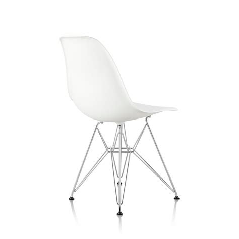 eames wire side eames molded plastic side chair wire base by charles ray