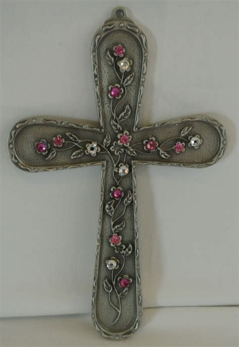 decorative crosses home decor swarovski cross diy decor crosses pinterest