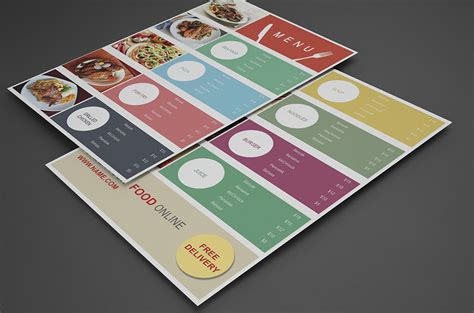 Design Your Own Home Online Free Download by 50 Free Restaurant Menu Templates Food Flyers Amp Covers Psd Vector