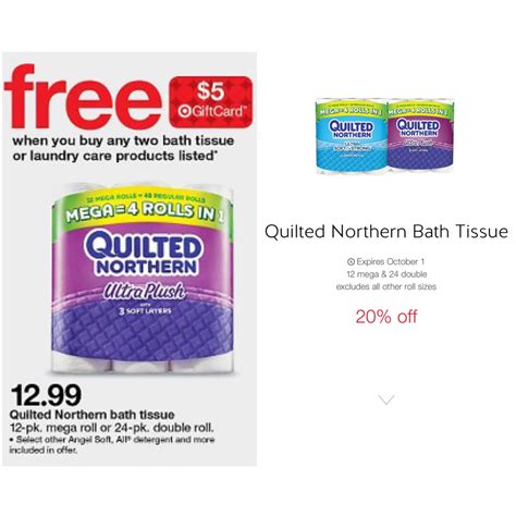Quilted Northern 12 Pack by Quilted Northern 24 Pack Roll 7 34 At Target