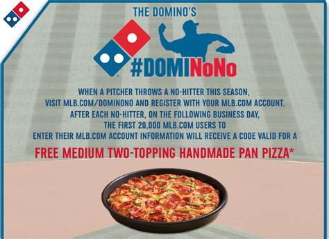 Handmade Pan Pizza Coupon - free domino s pizza tomorrow 8 13