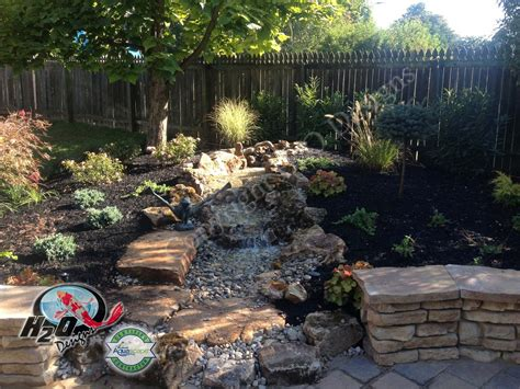 Backyard Ideas With Fire Pits Water Features Ponds Waterfalls Fountains Ideas