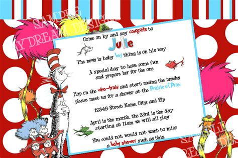 dr seuss post card templates 6 best images of dr printable seuss baby shower