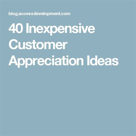 Customer Appreciation Gift Letter Customer Appreciation Ideas Pictures To Pin On Pinsdaddy