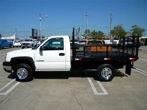 buy used 2007 chevrolet 2500hd flatbed landscape truck in