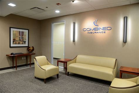 Insurance Office by Combined Insurance Lobby Chi Combined Insurance