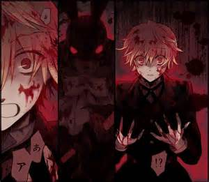 All Is Vanity Gilbert Oz The Bloody Black Rabbit Colored Pandora Hearts