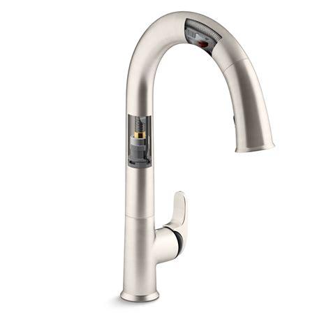kohler touchless kitchen faucet 2018 kitchen modern minimalist kitchen with giagni faucets ideas scottwalkerforjudge