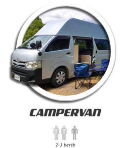 hire a 2 berth camper campervan hire south island, new