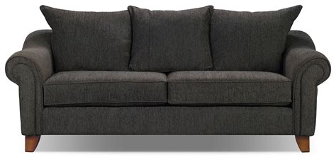 couches at the brick reese chenille sofa dark grey the brick