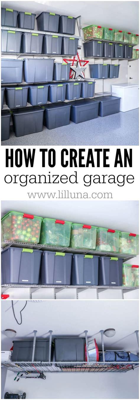 garage organization tips and tricks 25 best ideas about garage storage on diy