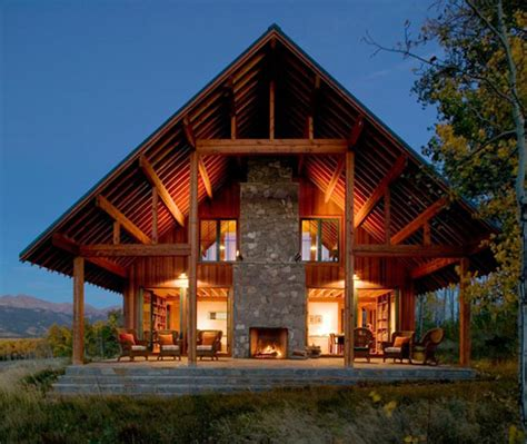 working ranch designed in natural style digsdigs