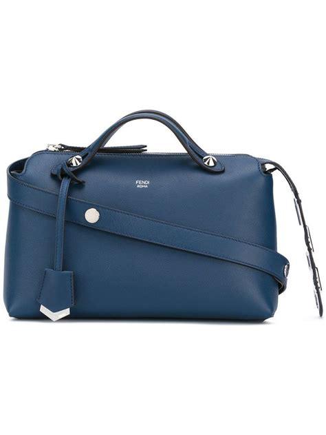 Fendi By The Way Boston Luxury Embossed W 678 best buyable luxury bag fendi ysl versace proenza schouler givenchy gucci prada
