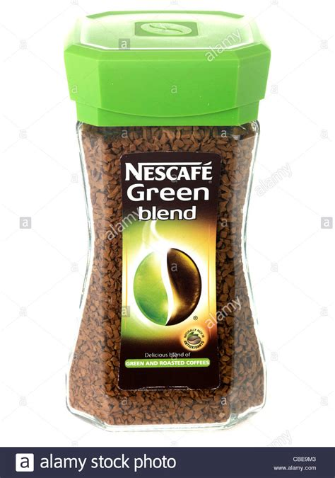 Nescafe Green Coffee nescafe green blend coffee stock photo 41496899 alamy