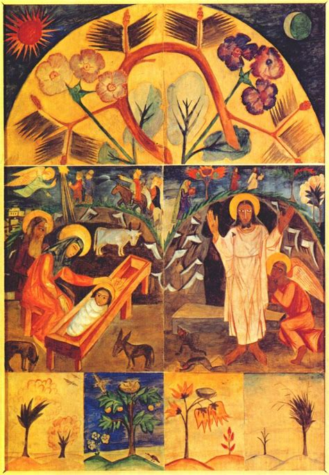 Icon Artwork by Icon Painting Motifs 1912 Natalia Goncharova Wikiart Org
