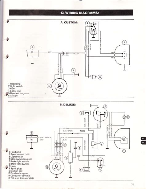 puch wiring diagrams mopedwiki