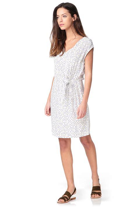 R Md White Dress sinequanone skater dress in white lyst