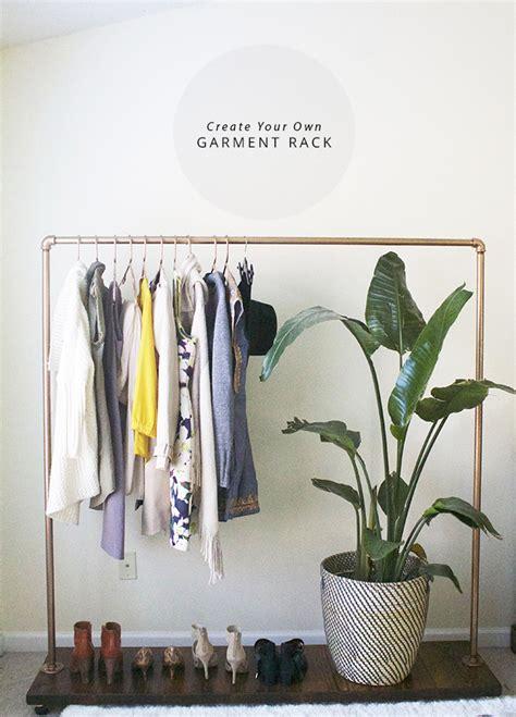 Diy Garment Rack by Diy Garment Clothing Rack In Honor Of Design