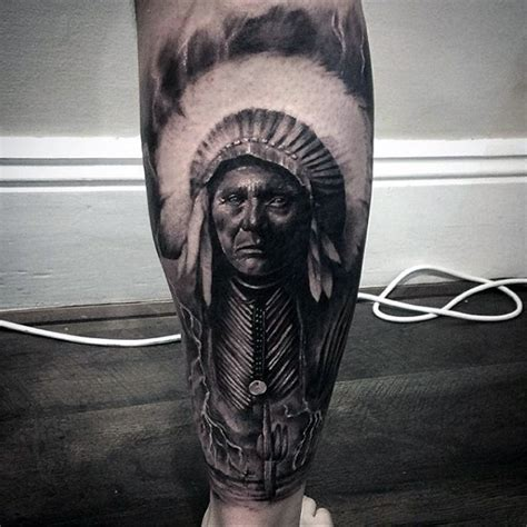 red indian tattoo designs for men 55 traditional american design