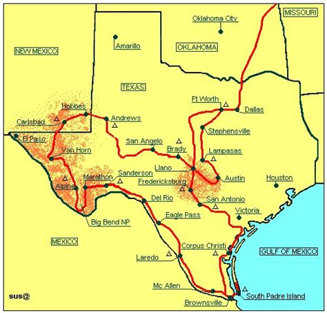 texas to florida map karte florida 99