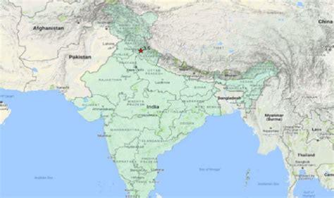 earthquake uttarakhand earthquake in uttarakhand 3 5 magnitude tremors in