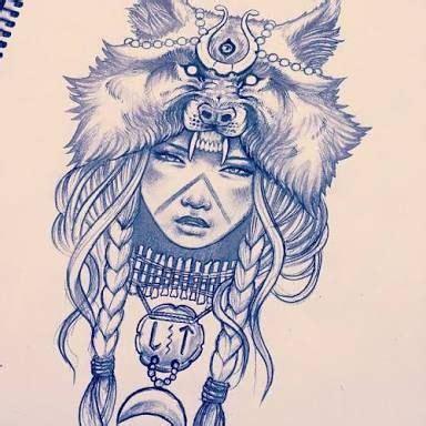 best 25+ wolf girl tattoos ideas on pinterest | indian