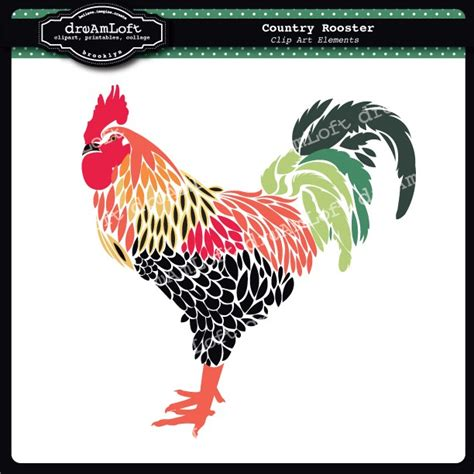 printable rooster images vintage rooster clipart 28