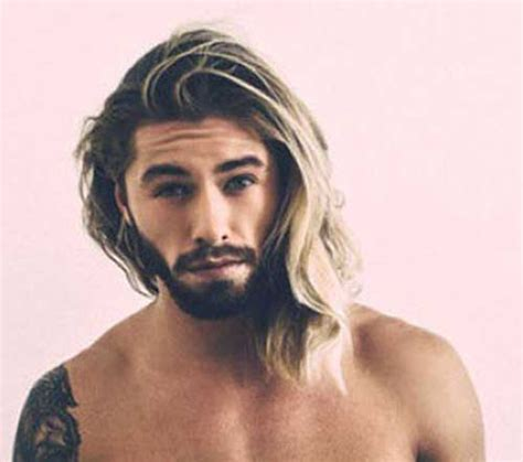Pictures Of Men With Long Thick Hair With Receding Hair Line | long hairstyles for men with thick hair mens hairstyles 2018