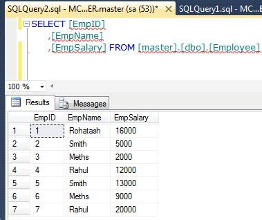 copy table with data from one database to another in sql