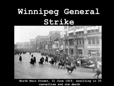 Winnipeg General Strike 1919 Essay by Winnipeg General Strike