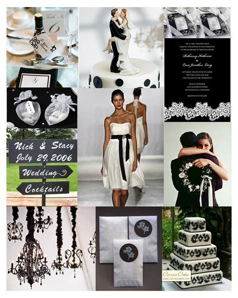 wedding themes black and white black and white wedding ideas romantic decoration