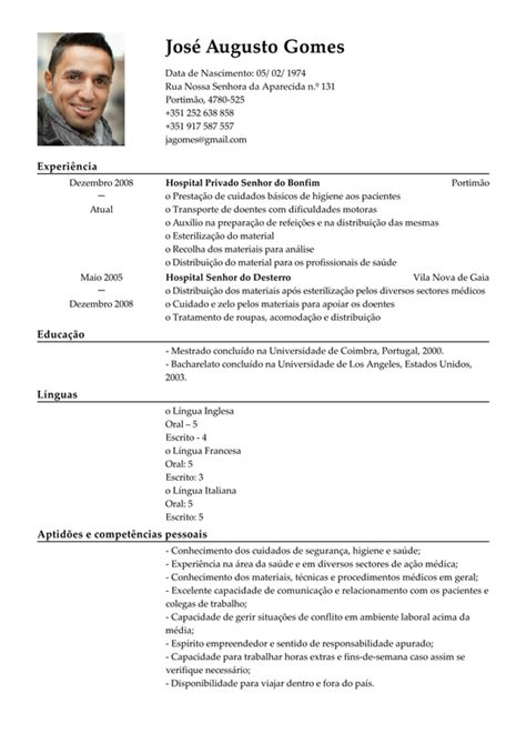 Modelo Curriculum Vitae Medico Recien Egresado Modelo De Curriculum Assistente M 233 Dico Exemplo De Cv M 233 Dica Assistente Livecareer