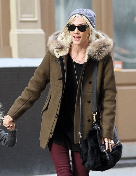 Get Look Ashlee Simpsons Balenciaga Matelasse by Ashlee Wearing Our Mordicus Coat Fw12 Fall