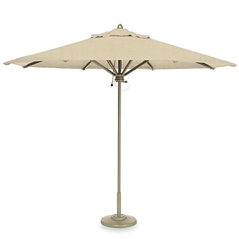 Brown Jordan 9 Foot Octagon Patio Umbrella Brown Patio Umbrella