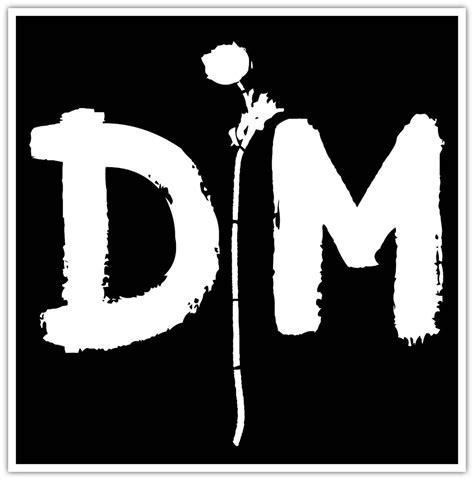 depeche mode logo pictures to pin on pinterest pinsdaddy