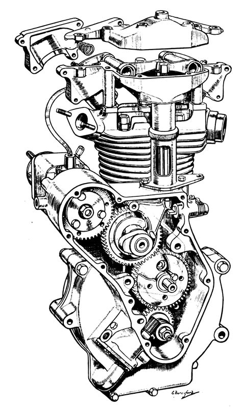 doodle engine the velobanjogent pen and ink drawings from quot motorcycle