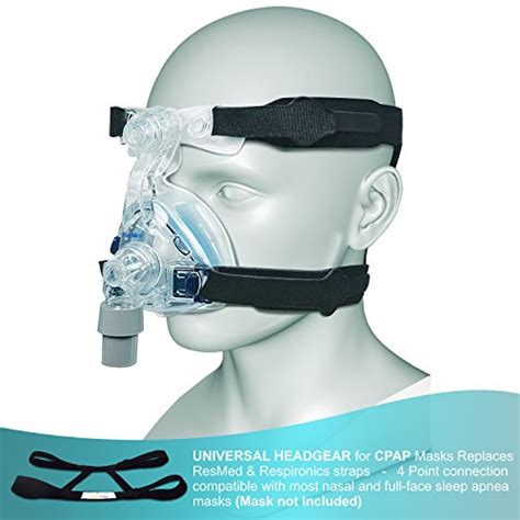 most comfortable full face cpap mask cpap headgear replacement straps ultra comfortable