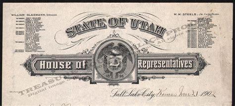 utah house of representatives letterhead utah s t